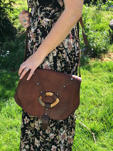 Vintage Preloved Brown Leather Brown