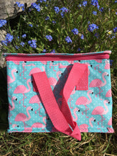 Tropical Flamingo Lunch Bag