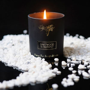 Audrey Collection Driftwood & Sea Salt Candle