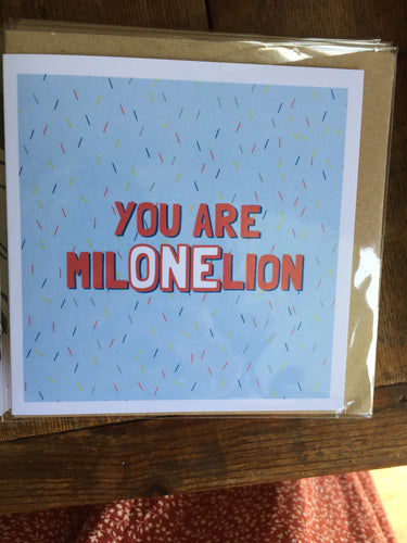 One in a Million Card by Lainey K