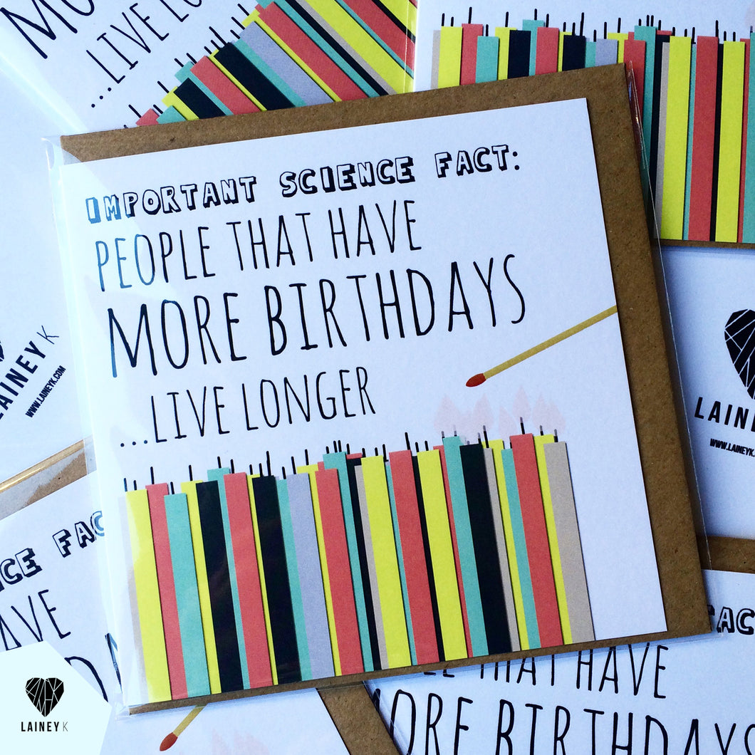 Science Fact Card by Lainey K