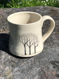 Trees and Birds Mug by Susi