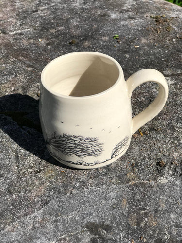 Windswept Trees Mug
