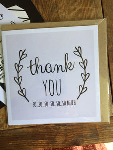 Thank You Card by Lainey K