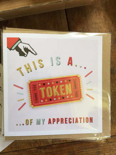This is a Token Card by Lainey K