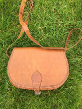 Vintage Preloved Leather Saddle Hunting Cartridge Bag