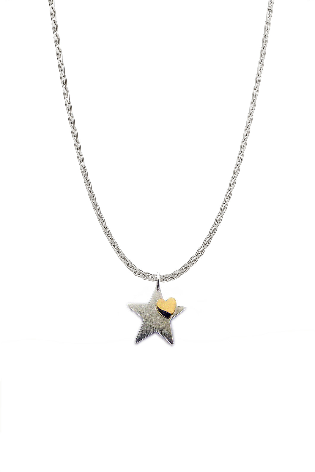 You're A Star With A Heart of Gold Pendant