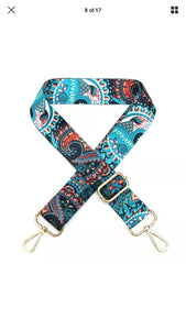 Shoulder Bag Strap -Phoenix Blue