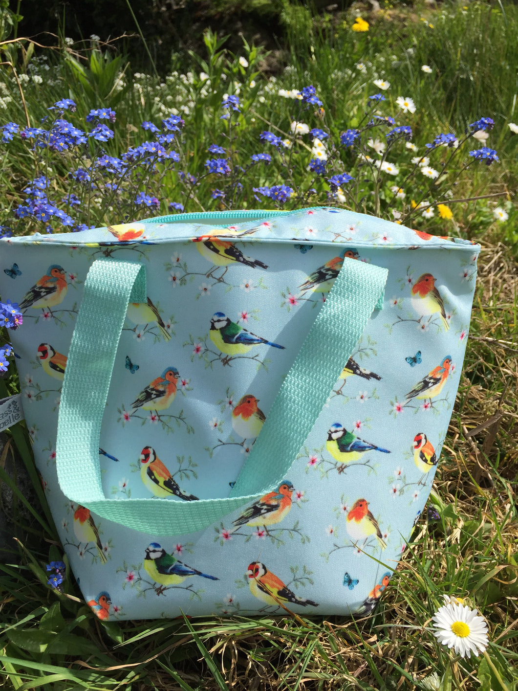Garden Birds Lunch Tote Bag