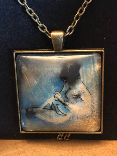 Necklace 'Life Drawing' by Ruth Cadden