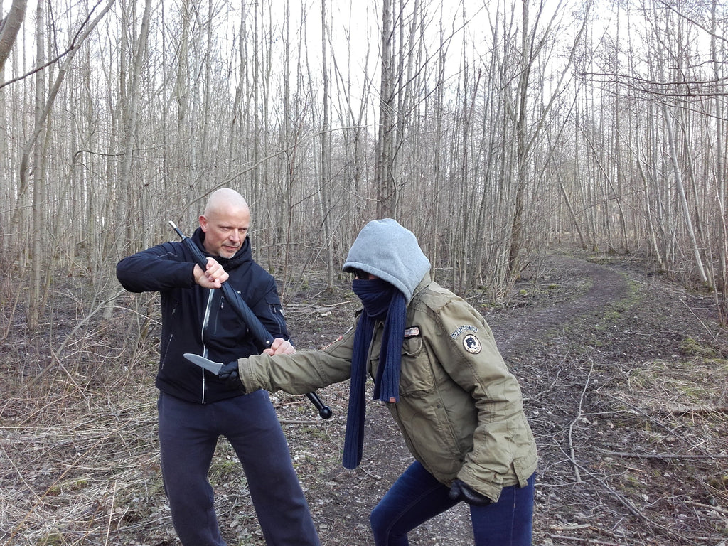Holger Säckel, instructor for realistic self-defense