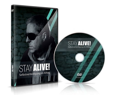 DVD Stay Alive - DVD Tutorial on practical self defense - security-umbrella