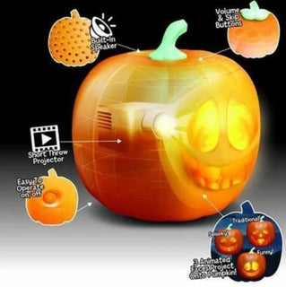 🔥🔥Halloween talking animated LED pumpkin ( set of 3 diffrent characters )