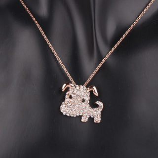 Gold Plated Dog Necklace