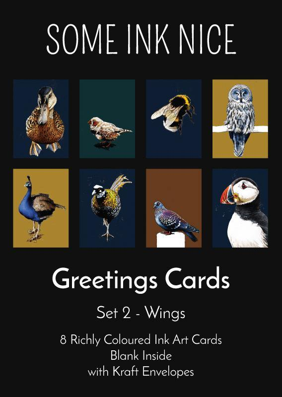 Colourful Card Box Set 2 - Wings