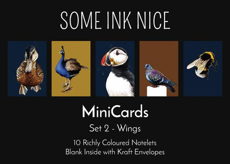 MiniCards Box Set 2 - Wings