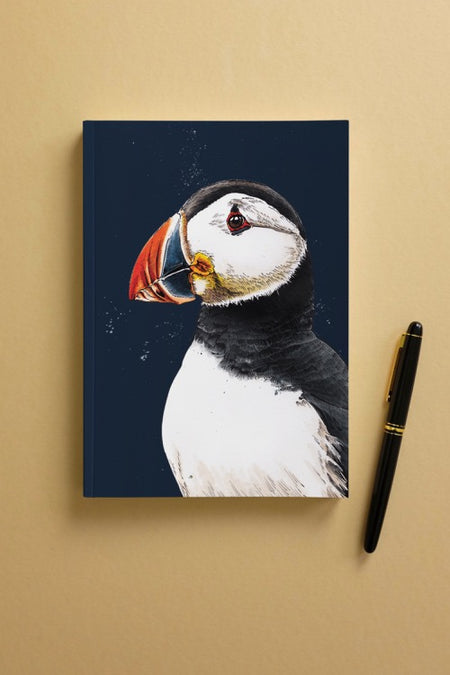 The Puffin A5 Notebook