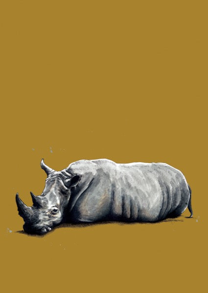 The Rhino Art Card