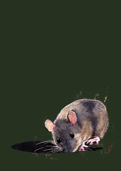 The Woodmouse Art Card