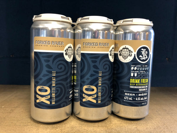 XO - Willamette Wheat Ale - 4.5% ABV