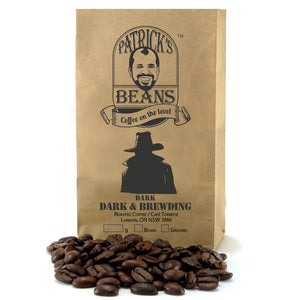 Patrick's Beans - Dark & Brewding