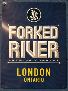 Forked River Metal Sign