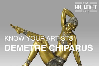 KNOW YOUR ARTISTS: DEMETRE CHIPARUS