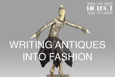 WRITING ANTIQUES INTO FASHION
