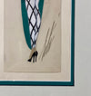 Erte Uncle Sam - Goache Costume Design - Hickmet Fine Arts