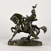 Barye Tartar Warrior bronze