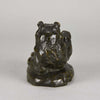 Barye Bear - Animalier Bronze by Antoine L Barye