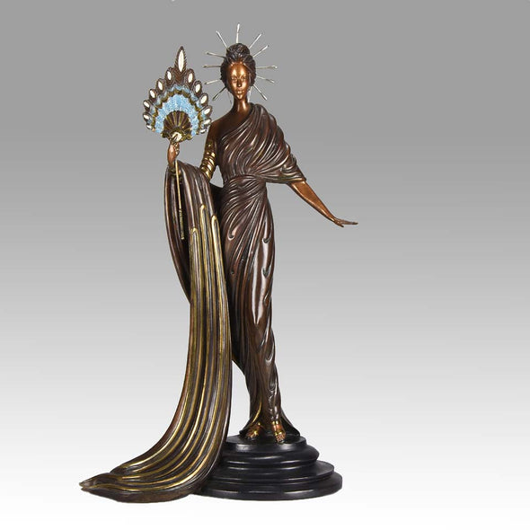 """Aphrodite"" by Erté Limited Edition Art Deco Bronze"