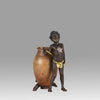 """Arab Child and Ewer"" by Franz Bergman"