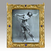 Gilt Bronze - Egyptian Photo Frame - Hickmet Fine Arts