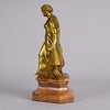 Art Nouveau Bronze Lady