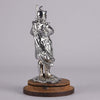 Car Mascot Bagpipes Chrome on Brass
