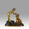 Erotic Couple Bergman bronze