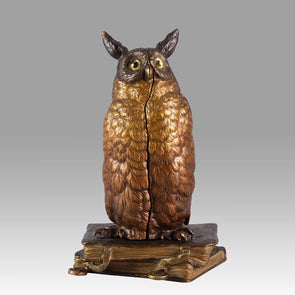 """Surprise Owl"" by Franz Bergman"