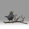 """Bird on Branch"" by Franz Bergman"