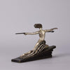 Bouraine Bronze Figure - Amazonian - Hickmet Fine Arts