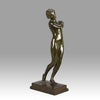Harold Brownsword Bronze - Young Woman - Hickmet Fine Arts