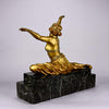 Claire Colinet Art Deco Bronze Theban Dancer