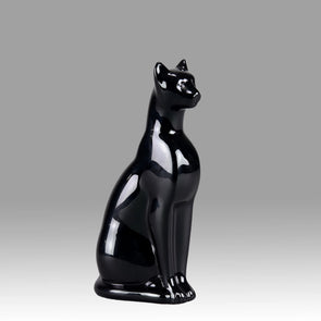 """Seated Cat"" by Baccarat"