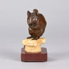 Mouse and Cheese - Charles Valton Bronze - Hickmet Fine Arts