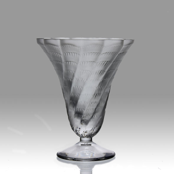 """Cornet Vase"" by Marc Lalique"