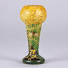 Mimosa Footed Vase by Daum Frères
