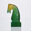 Daum Glass - Daum Horses Head - Hickmet Fine Arts