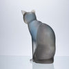 Daum Cat - Pate-de-verre Glass - Hickmet Fine Arts