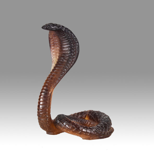 """Striking Cobra"" by Daum"