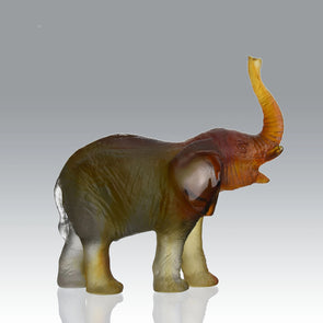 """Elephant"" by 'Leroy' for Daum"